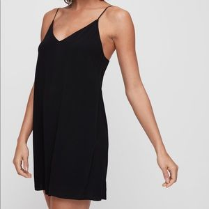 Wilfred Free Vivienne Black Flowy Camisole Dress